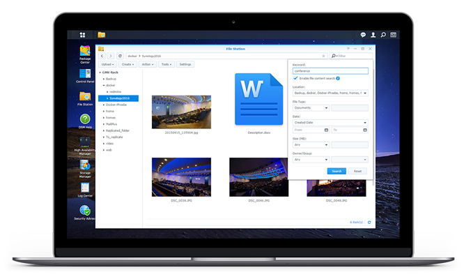 synology multimedia